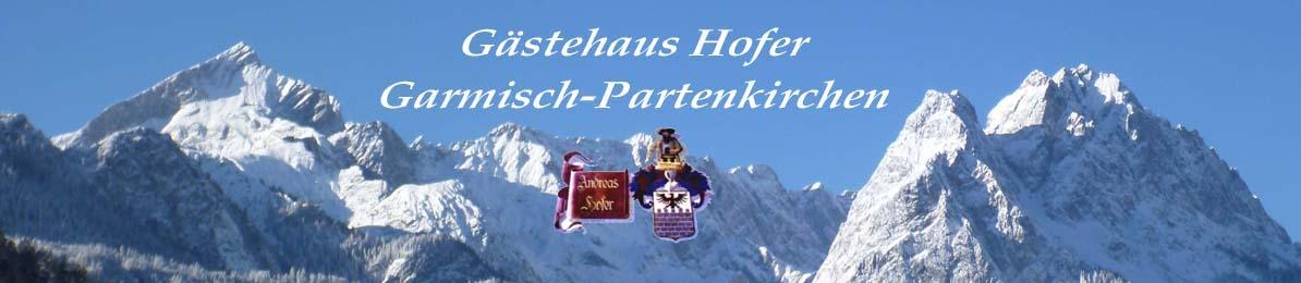 Gästehaus Hofer Garmisch Partenkirchen - Zimmer mit Frühstück